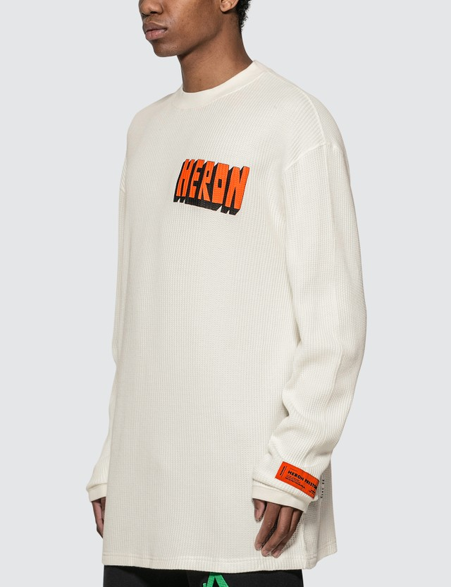 Heron Preston Heron Bold Long Sleeve T-shirt