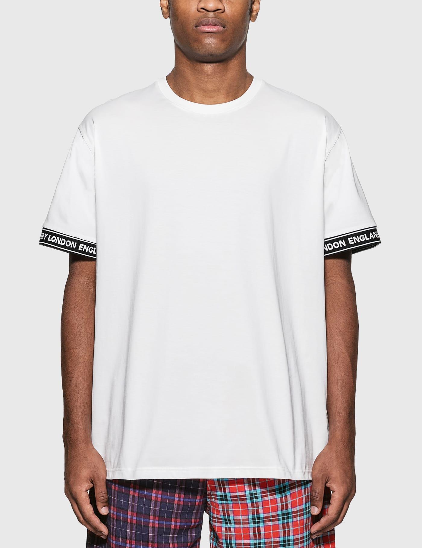 Logo Tape Cotton Oversized T-Shirt