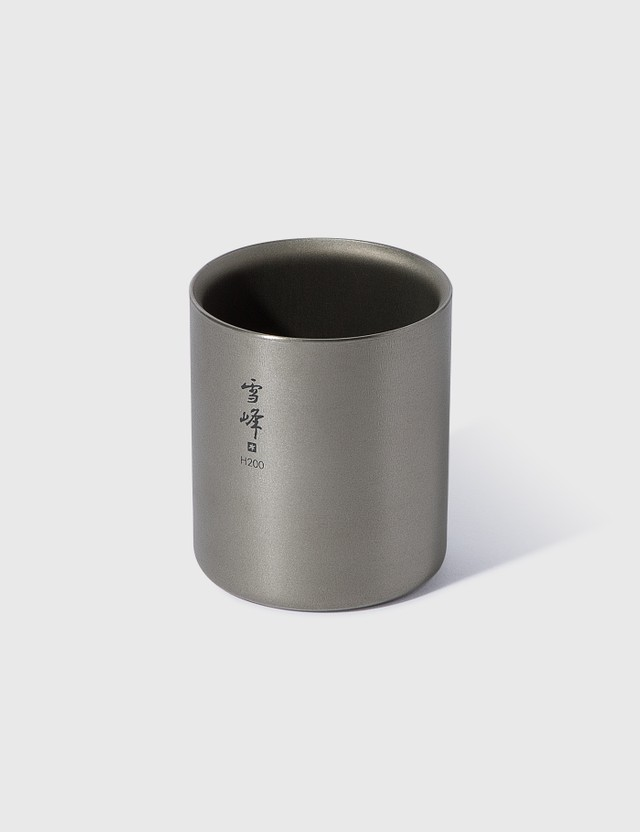 Snow Peak Ti-Double H200 Stacking Mug