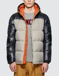 Moncler Contrast Down Jacket Picture