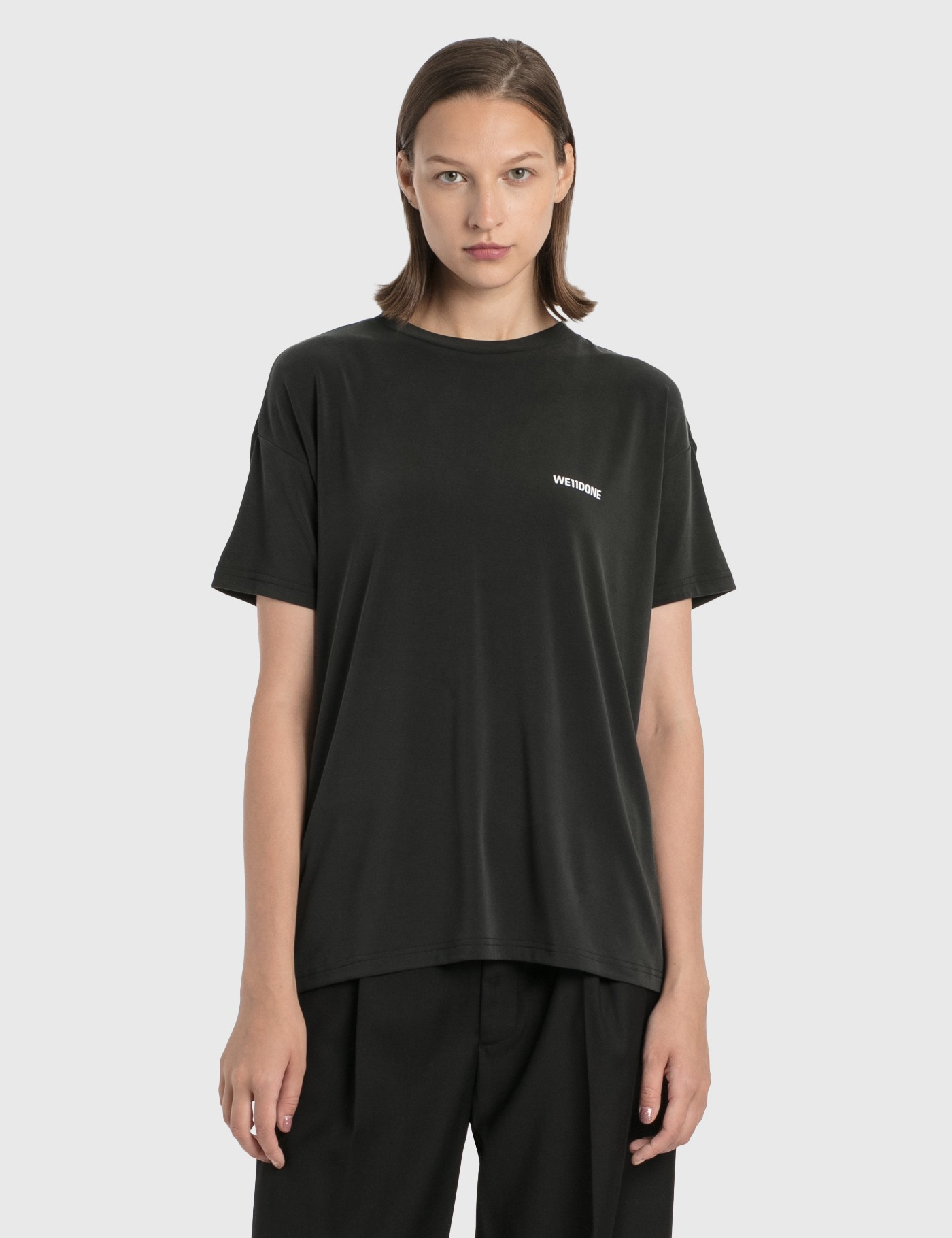 We11 Done OVERSIZED JERSEY T-SHIRT