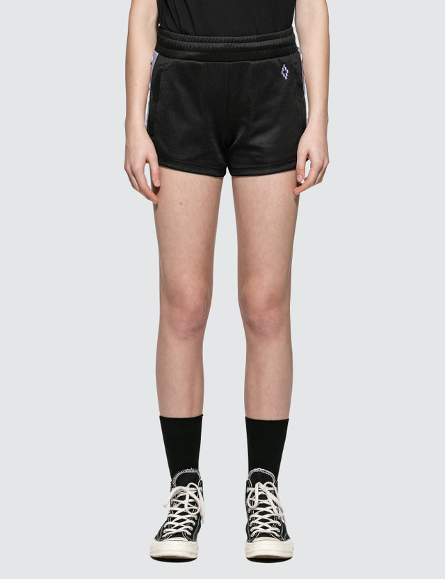 Marcelo Burlon Cross Tape Shorts