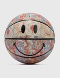 Chinatown Market Smiley Patchwork Rug Basketballの写真