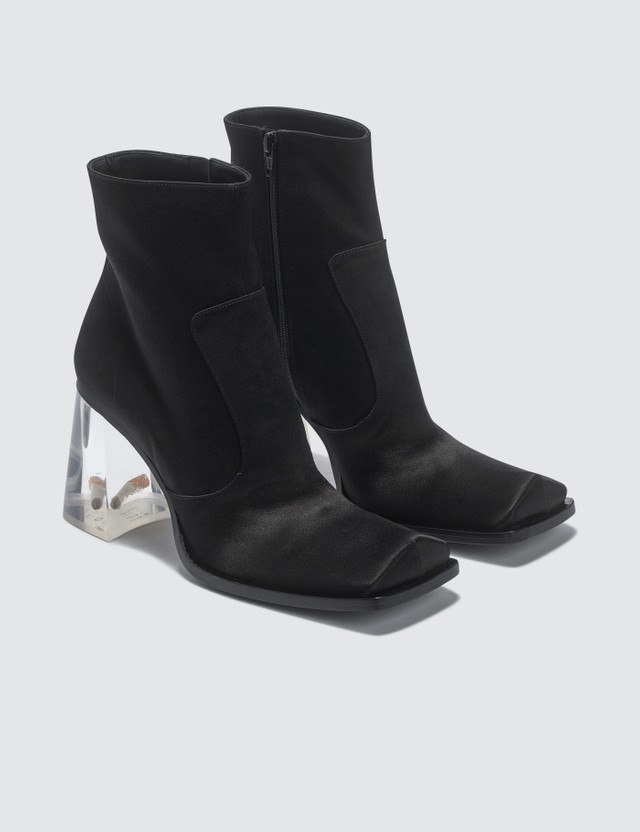 Maison Margiela Rose And Cigarette Heel Ankle Boots