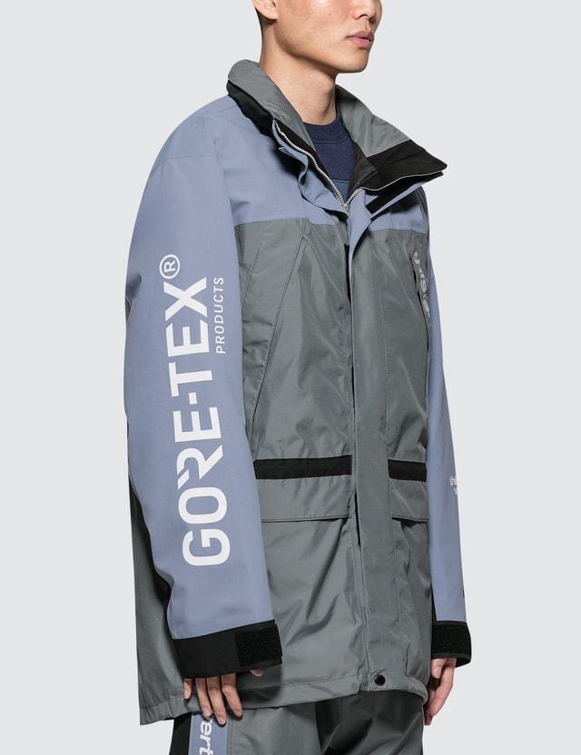 Thisisneverthat Thisisneverthat X Gore-tex City Peak Jacket Grey Men
