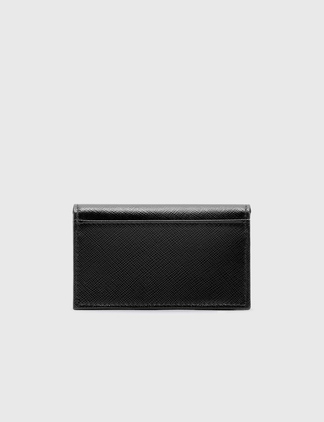 Prada Small Logo Card Holder Nero Men