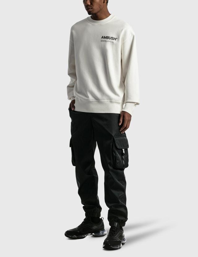 Ambush Fleece Workshop Sweatshirt Black Men