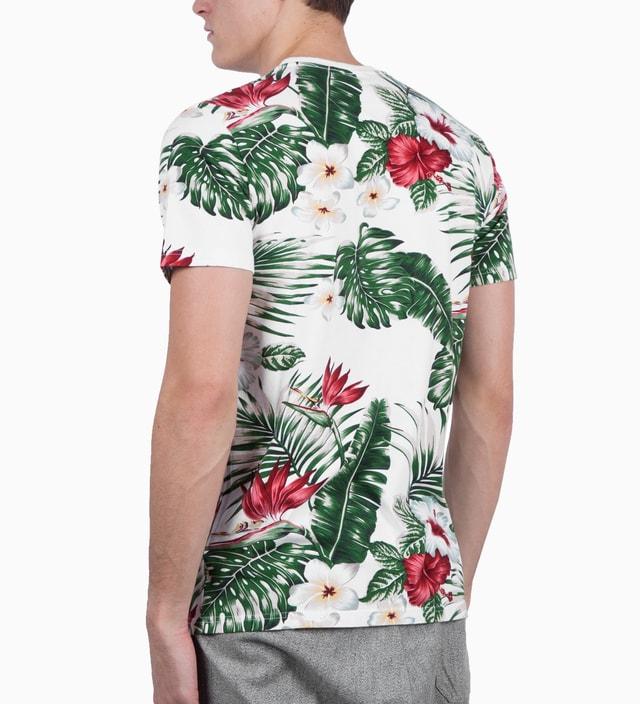Penfield White Palm Print Mahaka Palm T-Shirt