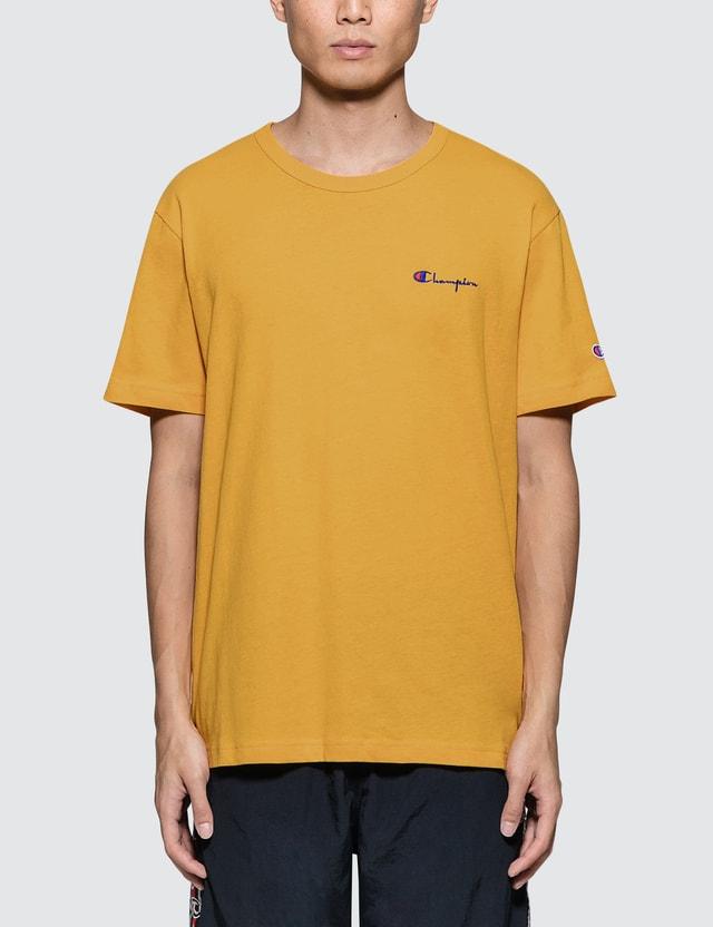 b9564ced Champion Reverse Weave - Small Script Logo S/S T-Shirt | HBX