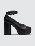Maison Margiela Tabi Plateau Calf Leather Decollete Picutre