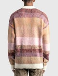 ERL Mohair-blend Striped Sweater Multi Men