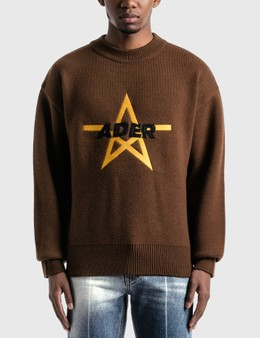 Ader Error Aspect Knitted Sweater