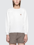 Maison Kitsune Fox Head Patch Par Rec Sweatshirt Picture