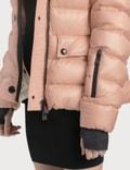 Moncler Armonique 퍼프 다운 재킷 Pink Women