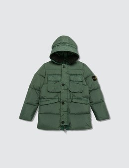 Stone Island Micro Reps Down Jacket (Infants)