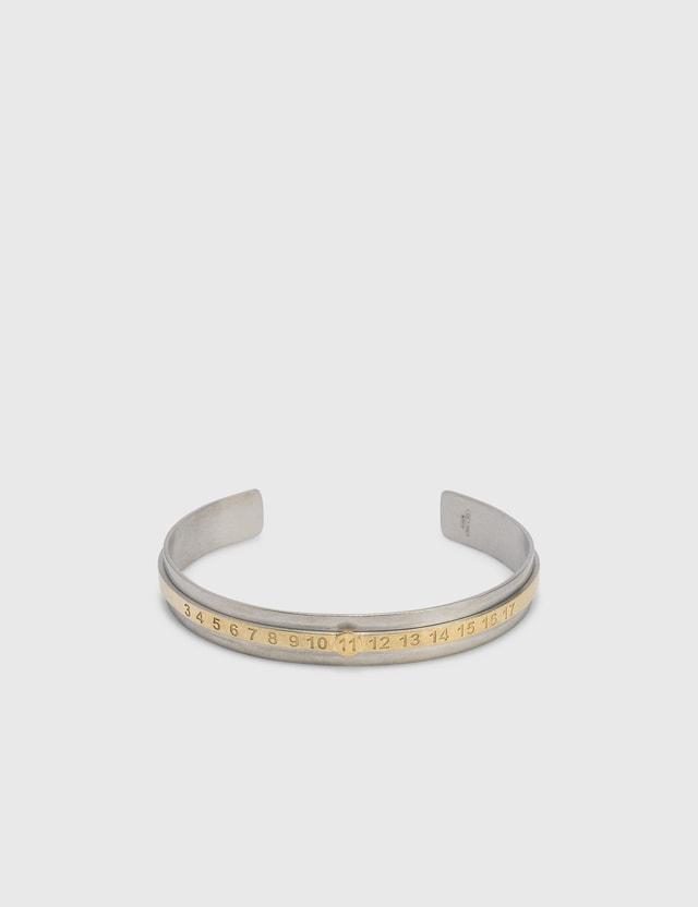Maison Margiela Numbers Bracelets Palladiosemipolished +yellowgold SemipolishedPlating Men