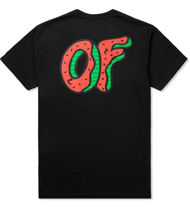 17c9c300 Odd Future - Black OF Watermelon Donut T-Shirt | HBX