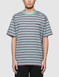 Polar Skate Co. Striped Pocket S/S T-Shirt Picture