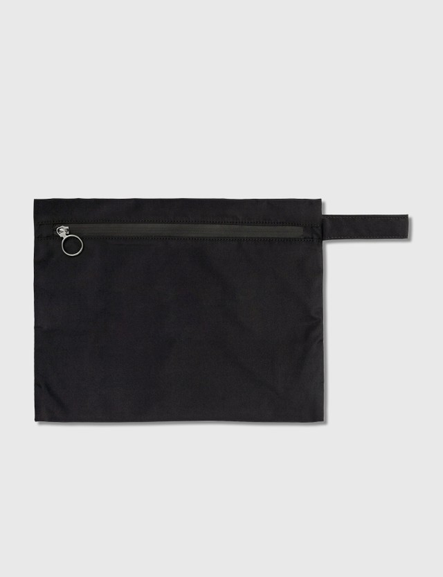 "Off-White ""LAUNDRY"" Pouch Black White Women"