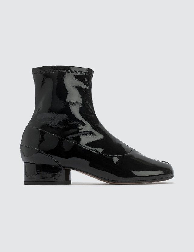 Maison Margiela Tabi Patent Leather Sock Boots