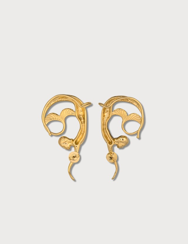 Lanvin Mermaid Earrings