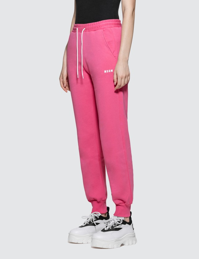 MSGM Small Logo Sweatpants