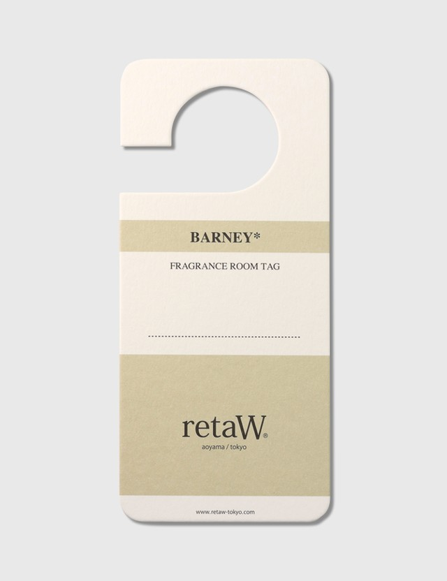 Retaw BARNEY* Fragrance Room Tag N/a Men