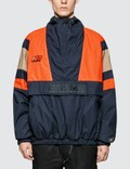 Napapijri x Martine Rose Retro Tracktop Black / Orange / Natural Men