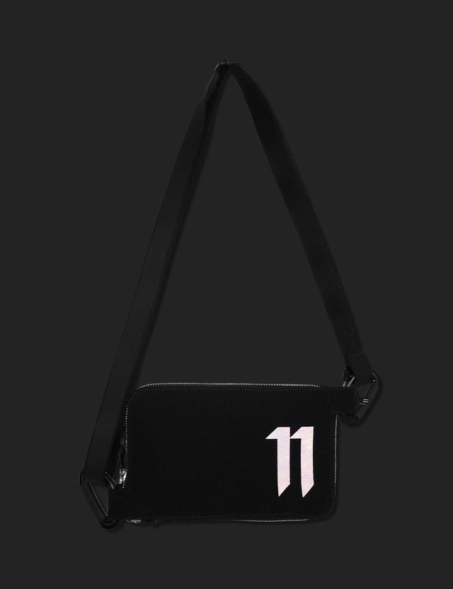 11 By Boris Bidjan Saberi Logo Flat Wallet Black Men