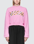 MSGM Regimental Stripe Logo Sweatshirt Picture