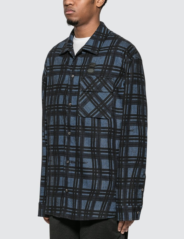 Off-White Flannel Check Shirt