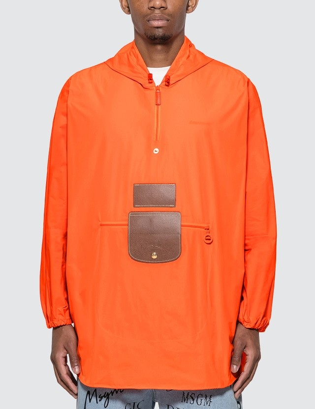 D'heygere D'heygere x Longchamp Convertible Jacket Orange Men