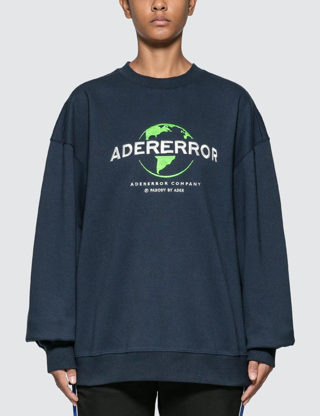 Ader Error Embroidered Logo Sweatshirt