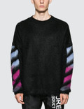 Off-White Brushed Mohair Sweatshirt Picture
