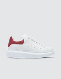 Alexander McQueen Raised-sole Low-top Leather Trainers Picture