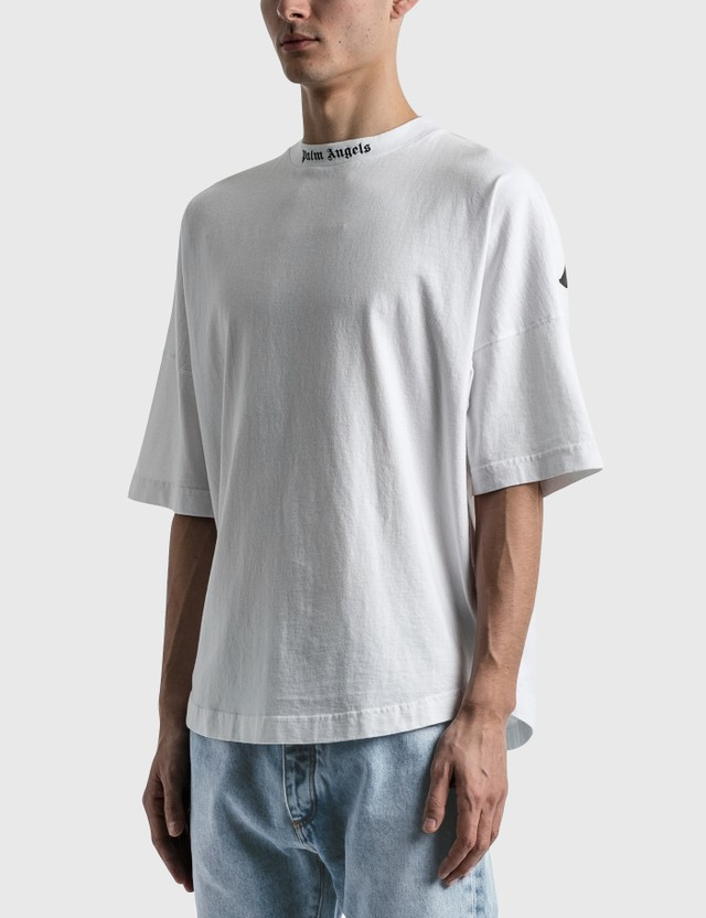 Palm Angels Classic Logo Oversized T-shirt White Men