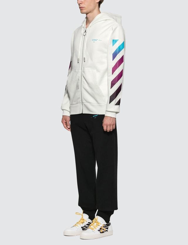 Off-White Diag Gradient Zip Hoodie