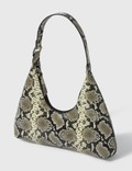 BY FAR Amber Snake-Print Leather Bag Picture