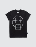 NUNUNU Sketch Skull T-Shirt Picture