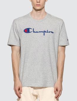 Champion Reverse Weave Big Script Crewneck T-shirt