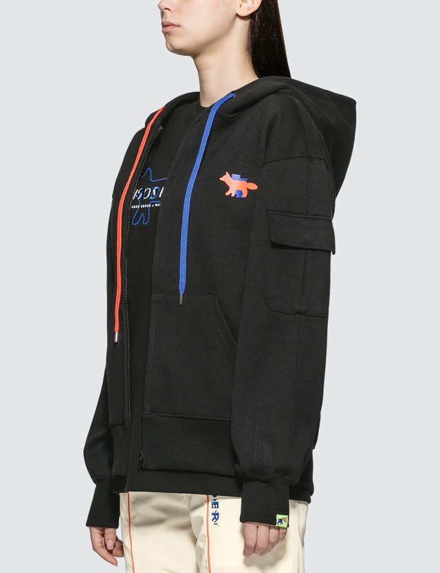 Maison Kitsune Ader Error X Maison Kitsune Zip-up Jacket