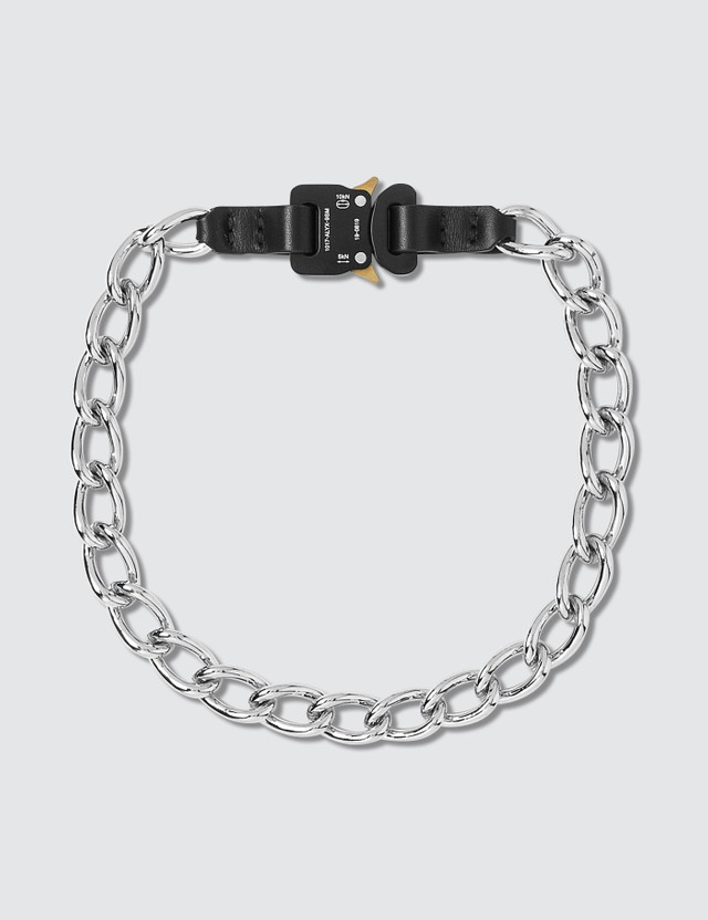 1017 ALYX 9SM Chain Necklace with Leather Details