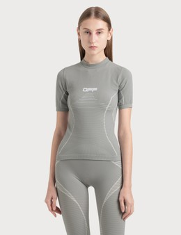 Off-White Active Short Sleeve Top
