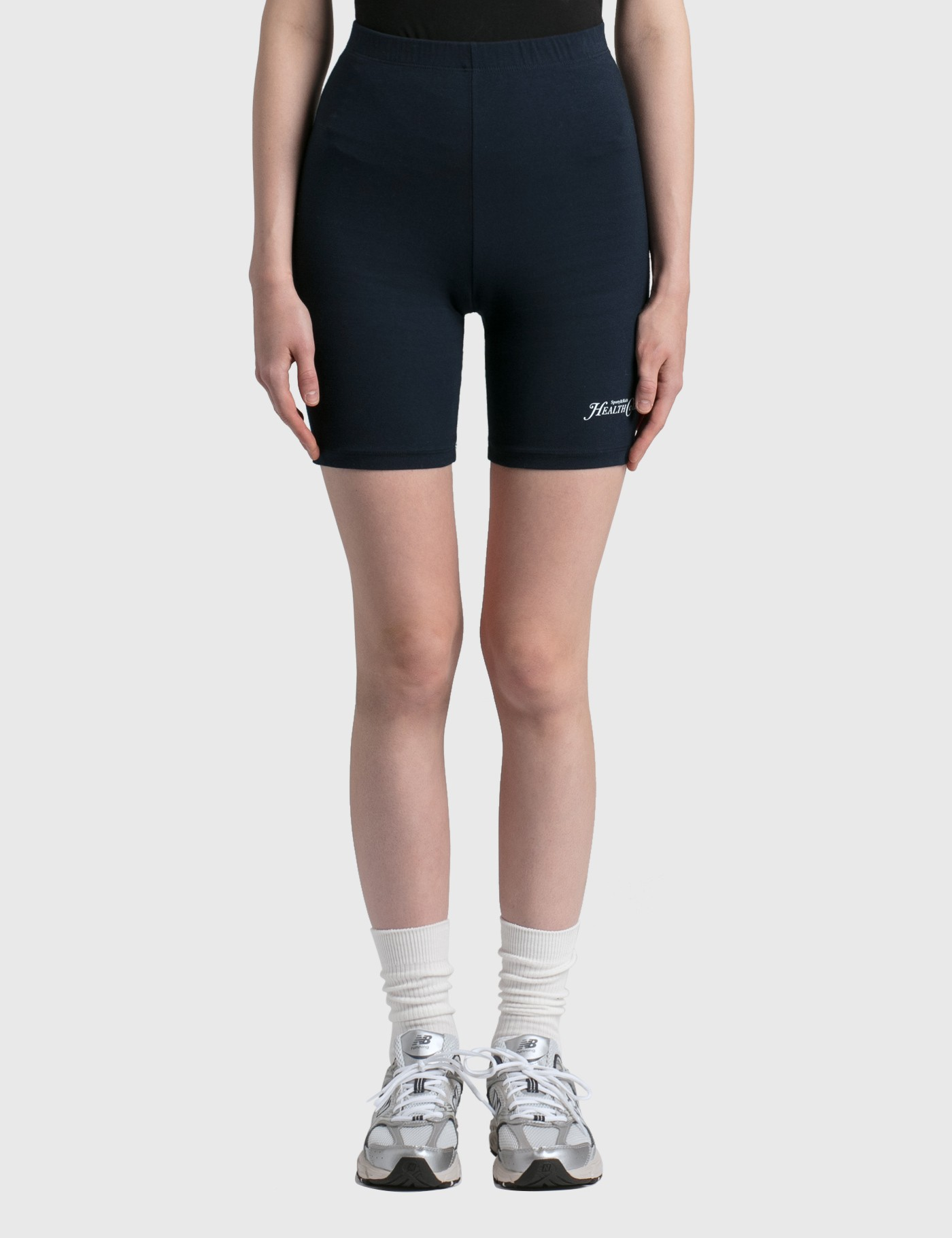 Sporty And Rich RIZZOLI BIKER SHORTS