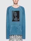 Maison Margiela Garment Dyed Mona Lisa Logo Sweater Picture