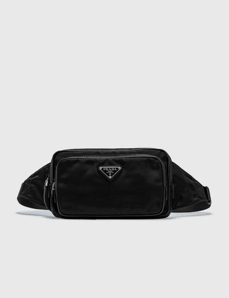 [21SS NEW!] 프라다 나일론 벨트백 - 블랙 Prada Nylon Belt Bag
