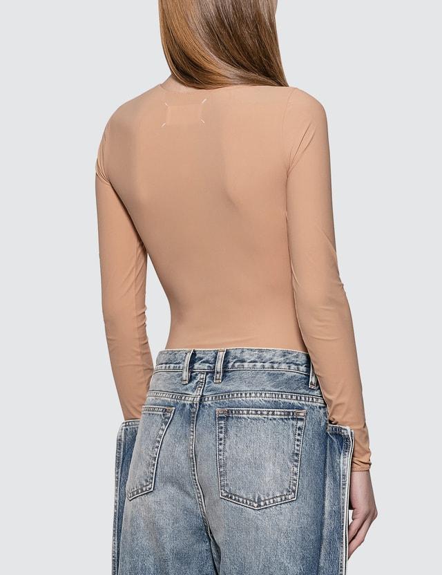Maison Margiela Basic Long Sleeve Bodysuit