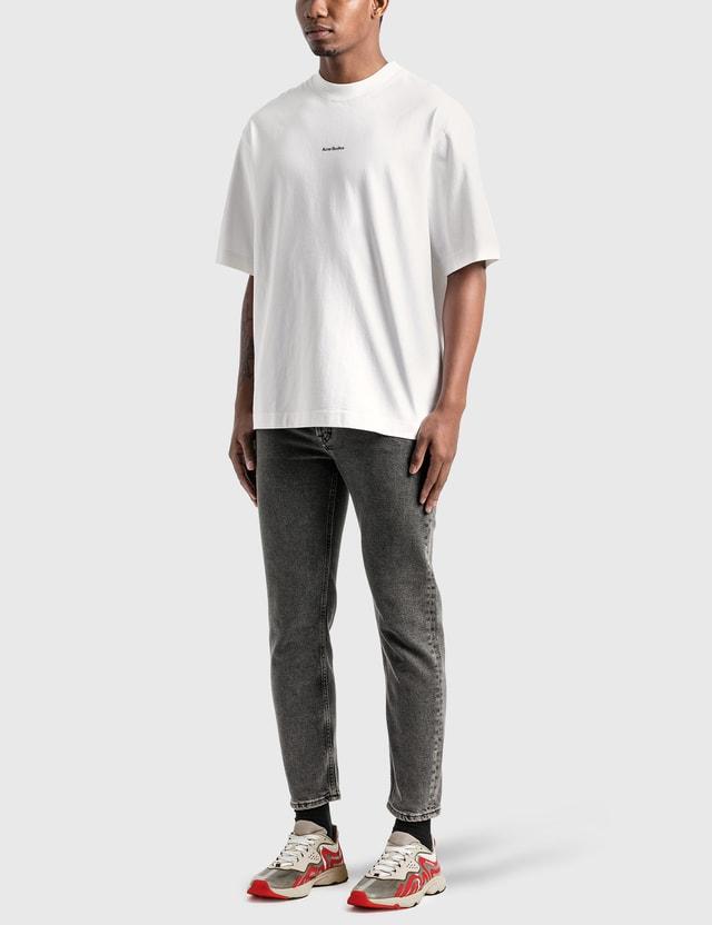Acne Studios Reverse Logo T-Shirt Optic White Men