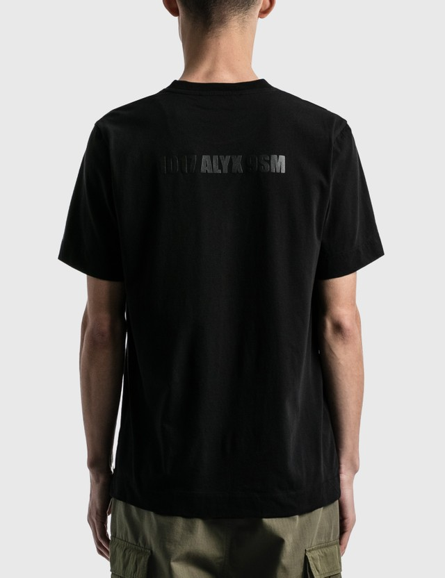 1017 ALYX 9SM Mirrored Logo T-shirt Black Men