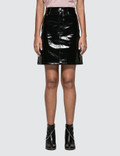 Helmut Lang Patent Leather Skirt Picture